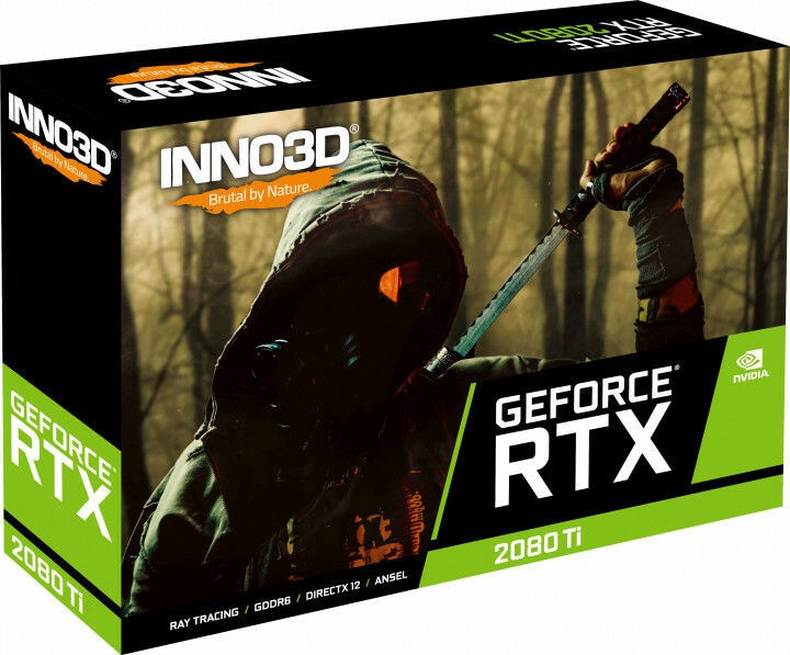 Inno3D GeForce RTX 2080 Ti X2 OC 11GB GDDR6 PCIE N208T2-11D6X-1150633