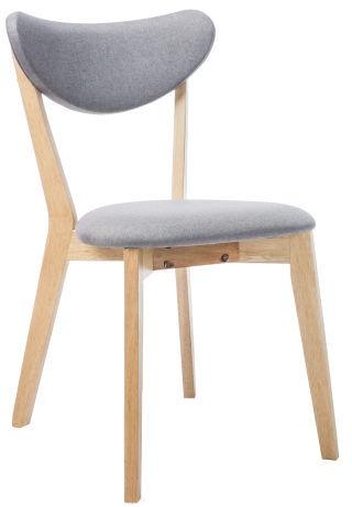 Стул для столовой Signal Meble Brando Oak/Grey, 1 шт.