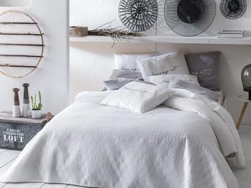 Room99 Bueno Bedspread 200x220cm White