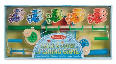 Melissa & Doug Catch & Count Magnetic Fishing Rod Set 15149