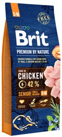 Brit Premium By Nature Senior S/M Chicken 15kg