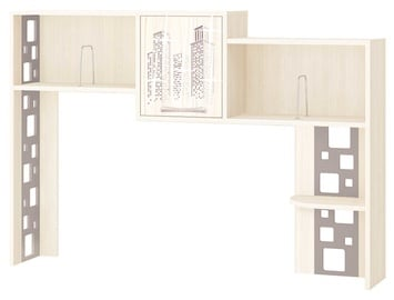 DaVita Megapolis 55.19 Shelf For Desk Astrid Pine