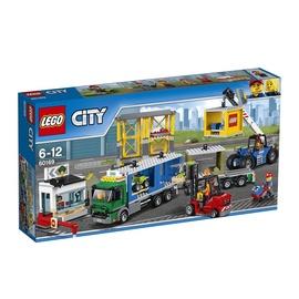 Konstruktorius LEGO City, Krovinių terminalas  60169