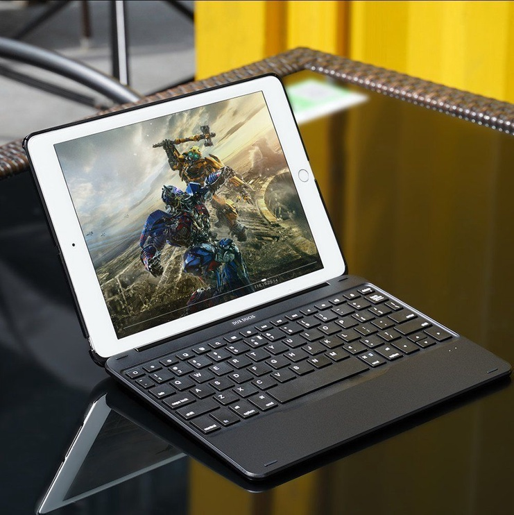Dux Ducis Bluetooth Keyboard Case for iPad Pro 10.5 2017 and iPad Air 2019 Black