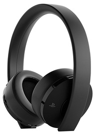 Sony Gold Wireless Stereo Headset 2.0 7.1 V2 Black