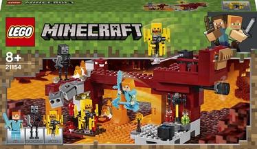 Конструктор LEGO Minecraft Мост Ифрита 21154, 372 шт.