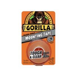 Kahepoolne teip Gorilla Clear 25,4mmx1,52m