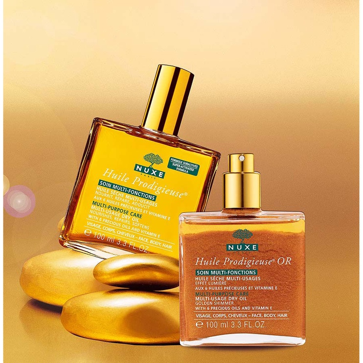 Kūno aliejus Nuxe Huile Prodigieuse OR Dry Oil, 100 ml