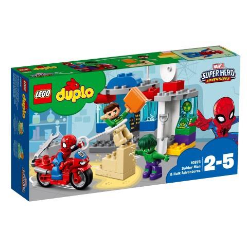 Конструктор LEGO Duplo Spider-Man & Hulk Adventures 10876 10876, 38 шт.