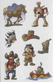 Herlitz Stickers Cowboy