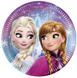 GoDan Frozen Plates 20cm 8pcs