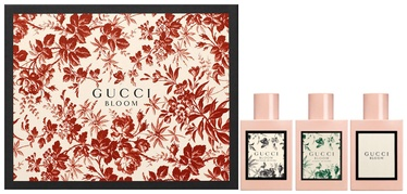 Gucci Bloom 30ml EDP + 30ml Acqua Di Fiori EDT + 30ml Nettare Di Fiori EDP