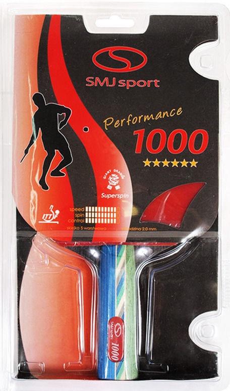 SMJ Ping Pong Racket 1000