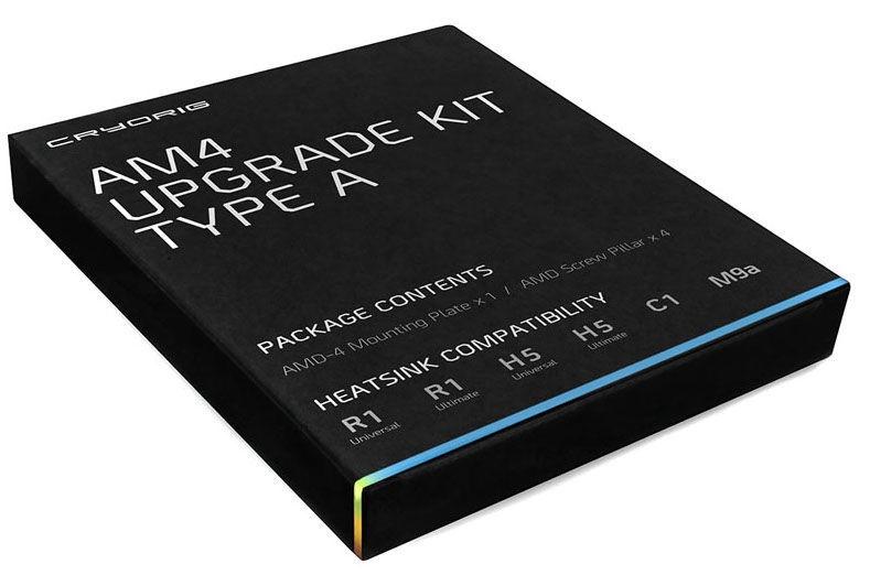 Cryorig CPU Cooler AM4 Upgrade Kit Type A For H5/C1/M9a