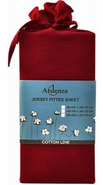 Palags Ardenza Jersey Deep Red, 90x200 cm, ar gumiju