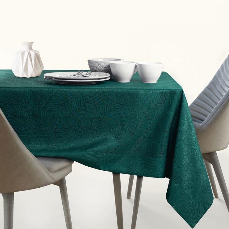 AmeliaHome Gaia Tablecloth Bottlegreen 140x200cm