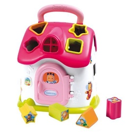 Smoby Cotoons Shape Sorter House Electronic Pink 110401r
