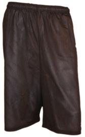 Bars Mens Basketball Shorts Black/White 172 L