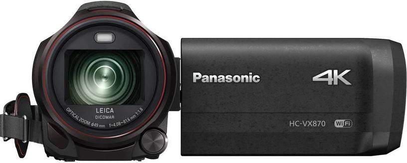 Panasonic HC-VX870 4K Ultra HD Camcorder Black