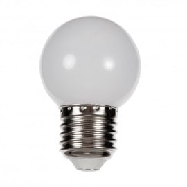 LED lempa Spectrum P45, 1W, E27, 6000K, 20lm