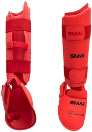 SMAI Leg Guards Red M