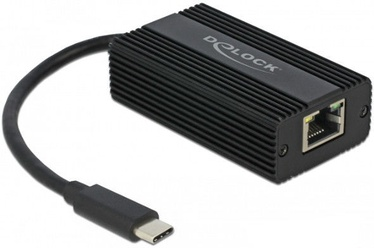 Delock 65990 USB Type-C To 2.5 Gigabit LAN Adapter Black