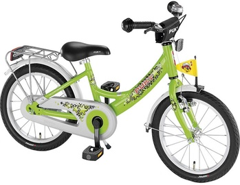 Vaikiškas dviratis Puky ZL 16 Green