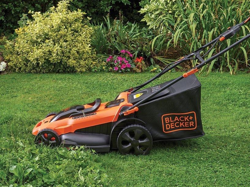 Аккумуляторная газонокосилка Black & Decker CLMA4820L2