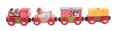 Bigjigs Toys Farmyard Train BJT466