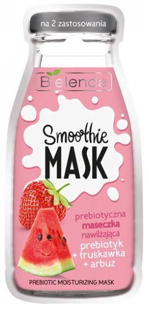 Bielenda Smoothie Face Mask With Prebiotic 10g Strawberry & Watermelon