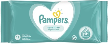 Pampers Baby Sensitive Wipes 1x12pcs