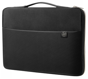 HP 14 Carry Sleeve Black Gold