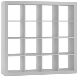 Top E Shop Kalax 4x4 Shelf Unit White