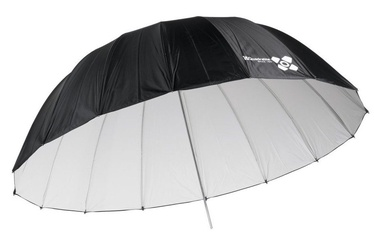 Quantuum Space 150 Parabolic Studio Umbrella White