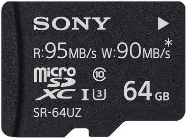 Sony 64GB Micro SDXC UHS-I U3 Class 10