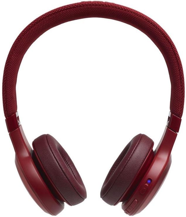 Belaidės ausinės JBL JBLLIVE400BTRED Red