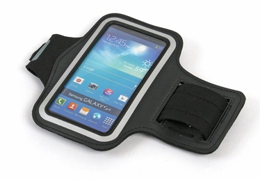 """Platinet Armband Pouch Case For Running 5"""" Black"""
