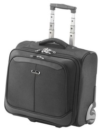"""Falcon Media Rolling Notebook Bag For 16"""" Black"""