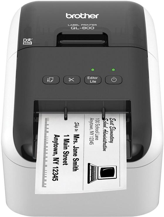 Принтер этикеток Brother QL-800, 1150 г
