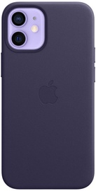 Apple iPhone 12 mini Leather Case with MagSafe Deep Violet