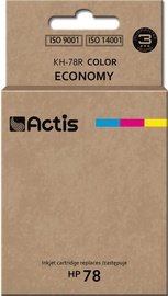 Кассета для принтера Actis Cartridge KH-78R For HP 45ml Multicolor