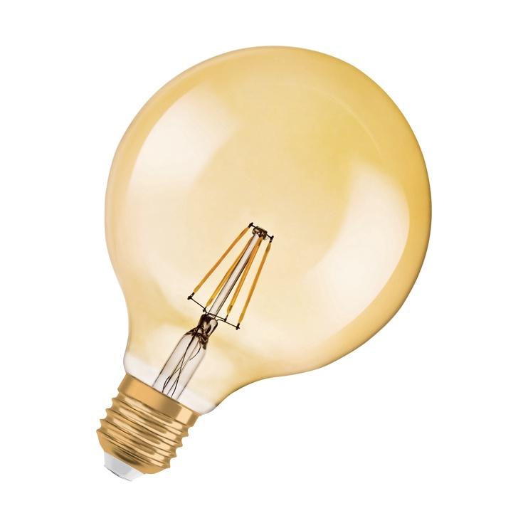 LED Osram G125, 7.5W, E27, 2500K, 725lm, DIM