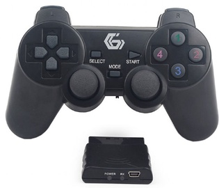 Gembird Wireless Dual Vibration Gamepad PS2/PS3/PC