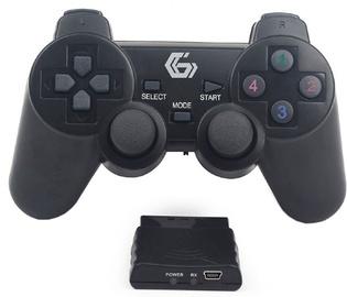 Žaidimų pultas Gembird Wireless Dual Vibration PS2/PS3/PC