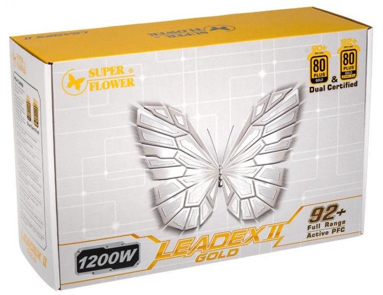 Super Flower Leadex II 80 Plus Gold PSU 1200W