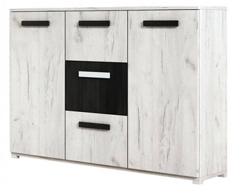 Idzczak Meble Viva Chest Of Drawers White Black