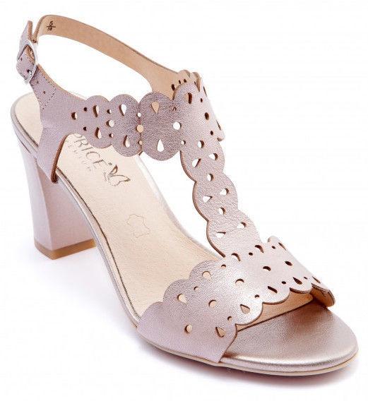 Caprice Sandal 9/9-28312/20 Rose Metallic 38