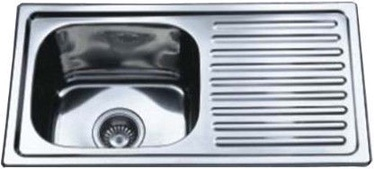 Мойка Tredi DM-7540 Stainless Steel Right 750x400mm