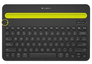 Клавиатура Logitech K480 EN, черный