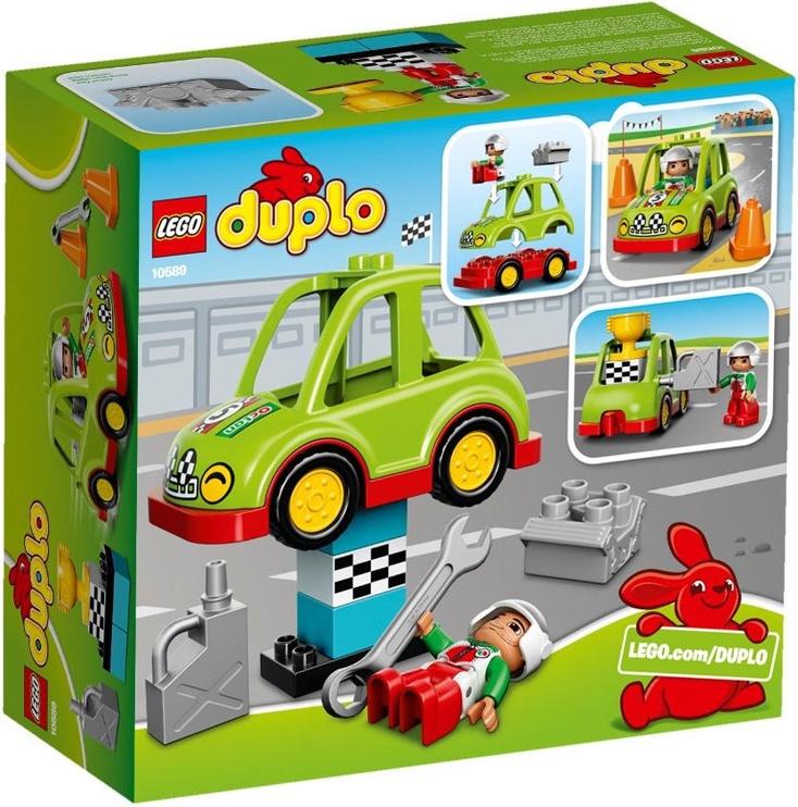 Конструктор LEGO Duplo Rally Car 10589 10589, 13 шт.